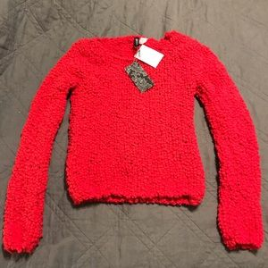 NWT H&M Bright Pink Sweater